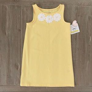 Pappagallo Girls' Sleeveless Yellow Dress M (7/8)